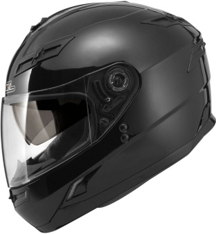 SOL FullFace SF-1 Solid Motorcycle Helmet (Black)
