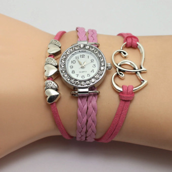 Soulmate European and American bracelet couple's watches woven watch