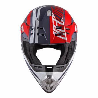 Spyder Motocross Helmet Dirt G 765 (Navy Blue/Red/White) -Large - 2