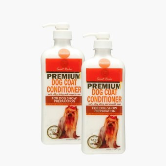 St. Roche Premium Happiness Dog Coat Conditioner 500mL (Set of 2)