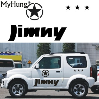 Stickers For SUZUKI Jimny Car Styling Jimny sticker AutoAccessories Reflective Waterproof Vinyl Car Decals Car Accessories1PC - intl