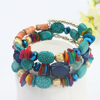 Style European and American multi-color minority bracelet
