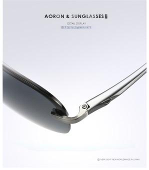 Super Aluminum Magnesium Polarized Men's Square Male Sun glasses Driving Eyewear Outdoor Sports Goggle Sunglasses aviator 3025 polaryte hd - intl - 4