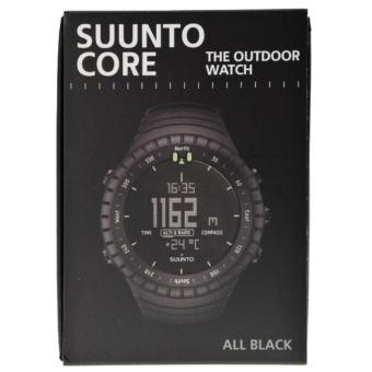 Suunto Core All Black Outdoor Watch with Altimeter Baromete Compass SS014279010 - intl .