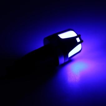 Sweatbuy 1Pc 12V Motorcycle Handlebar Turn Signal Light Waterproof Indicator Warning Lamp Blue - intl - 2