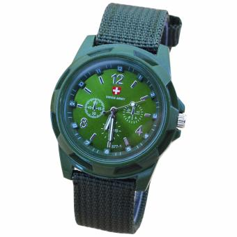 Swiss Army Watches Fashion Outdoor Sports Watch (Green)