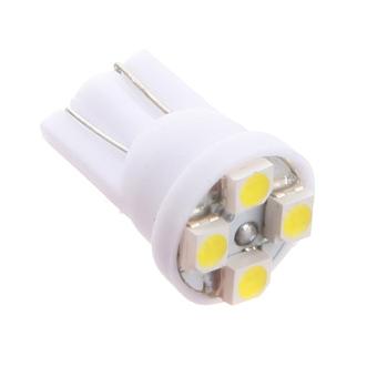 T10 4 LED SMD Car Wedge Light DC12V Pure White 2PCS