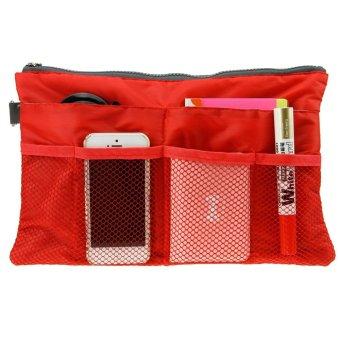 Taikinima Dual Bag in Bag Organizer(Red) - 2