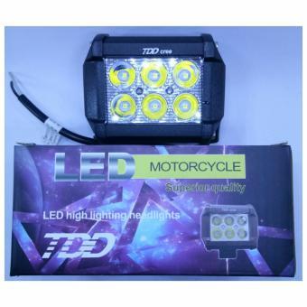 TDD led motorcycle 6 led square bar