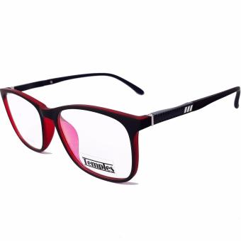 Temples Basic LIFESTYLE Prescription Frame Model E155 Black/Maroon Price Philippines
