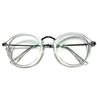 The Evocative Retro Premium Computer Glasses (Chrome Black) with Anti-blue, Anti-fatigue and Anti-radiation with Clear Lens