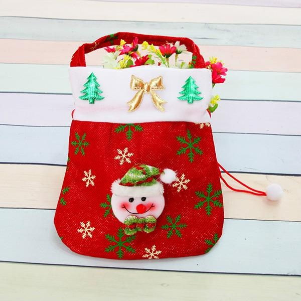 The New Santa Claus Gift Bags Christmas Decorations Christmas Candy Bags Christmas Gift Bags - intl