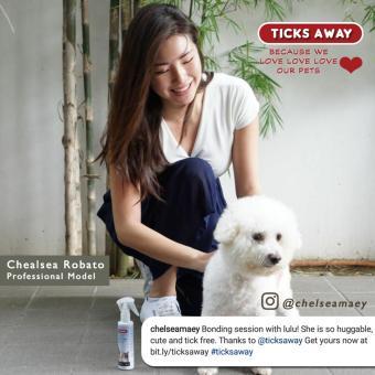 Ticks Away anti tick (garapata) & flea (pulgas) & lice (kuto) spray for dogs & cats - fipronil active ingredient - 4