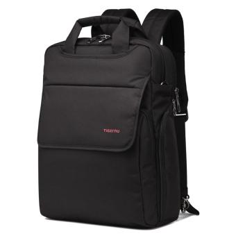 Tigernu School Youth Teenager Waterproof Anti-theft Bag ShoulderColorful Laptop Backpack T-B3153(Black) - 2