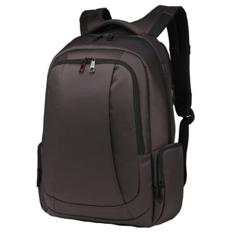 Tigernu Waterproof Nylon Anti-theft Travel Business Backpack for 12.1-15.6 Inches Laptop(Coffee) - Intl - 3