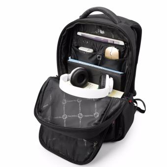 Tigernu Waterproof Nylon Anti-theft Travel Business Backpack for 12.1-15.6 Inches Laptop(Coffee) - Intl - 5