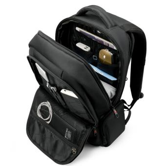 Tigernu Waterproof Nylon Anti-theft Travel Business Backpack for 12.1-15.6 Inches Laptop(Coffee) - Intl - 4