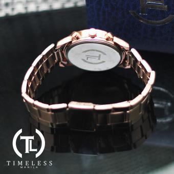 Timeless Manila Caitlyn Chrono Metal Watch (Bronze) - 3