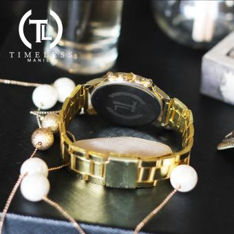Timeless Manila Candice Roman Numeral Chrono Metal Watch Buy 1 Take 1 (Cyan) - 4