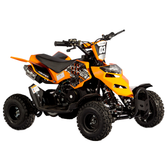 Tinker Motors RZR Pocket Rocket Kids ATV 49cc 2 stroke (Orange)