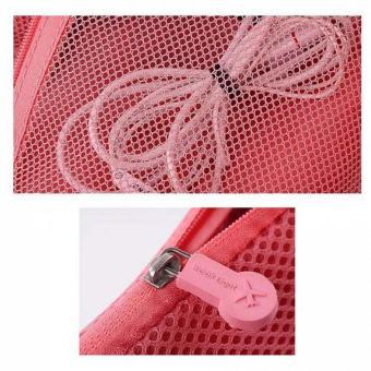 TM Travel Gadget Organizer Pouch (Pink) - 4