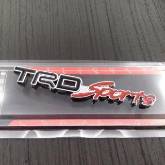 How To Buy Toyota Trd Sports Black Emblem Stick On In Philippines
