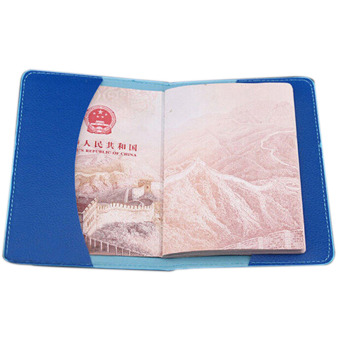 Harga Vanker Colorful Passport Holder Protector Cover Case ID Card Source Termurah Bluelans . Source.