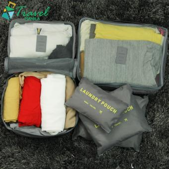 Travel Manila 6 in 1 Packing Bags (Grey)
