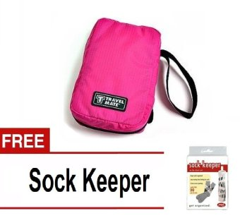 Travel mate Pink With Free Sock Keeper