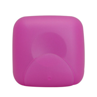 Travel portable on the open cover soap box soap dish