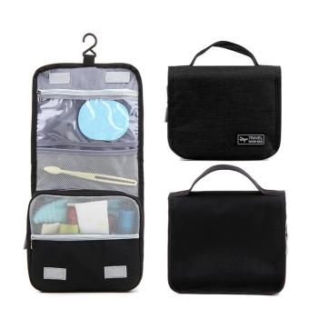 Travel Wash Bag Toiletry Pouch (Black)