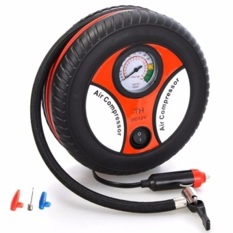 Trendsetter 260PSI Auto Car Electric Tire Inflator Pump Air Pressure Gauge Compressor DC 12V
