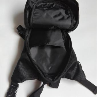 TTLIFE Outdoor Waterproof Oxford Cloth Travel Bag Men Black WaistBag(black) - 2