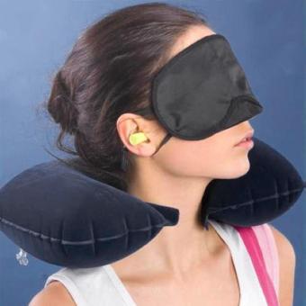 U Cushion Pillow + Eye Mask + 2 Ear Plug - picture 2