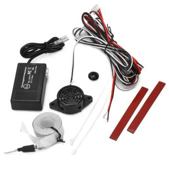 U301 Auto Electromagnetic Back-Up Parking Sensor (Black) - 3