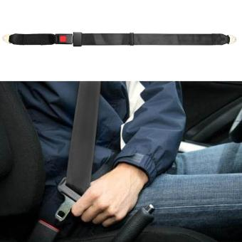 Universal Adjustable Car Truck Two Point Seat Belt Lap Safety Belts- intl - 3