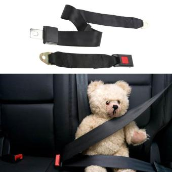 Universal Adjustable Car Truck Two Point Seat Belt Lap Safety Belts- intl - 4