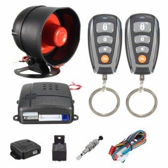 Universal CAR REMOTE CONTROL ALARM KEYLESS ENTRY SYSTEM Anti-Theft Door Lock - intl