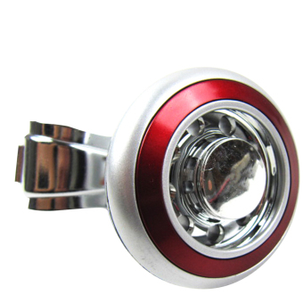 Universal Car Vehicle Steering Wheel Spinner Power Handle Knob Red