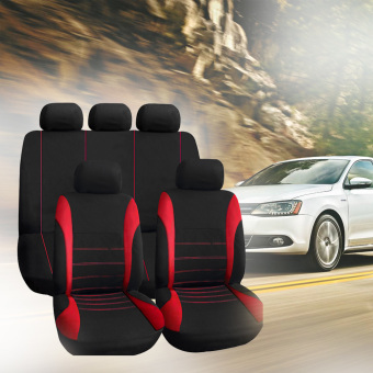 Universal Fit Car Styling Car Cover Seat Protector(Red)