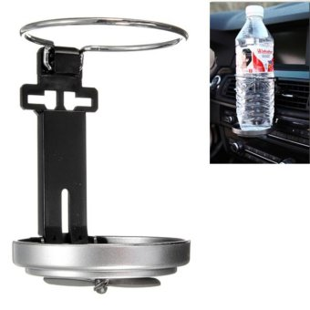 Universal Folding Drink Bottle Cup Holder Stand for Car VehicleSilver - intl - 4
