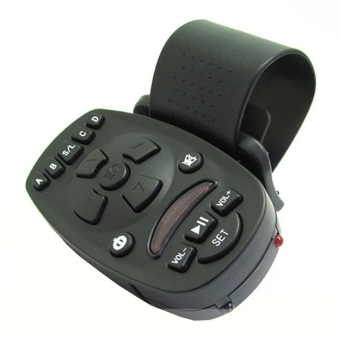 Detail Images Universal Steering Wheel IR Remote Control for Automobile Car AudioVideo GPS Ubdate