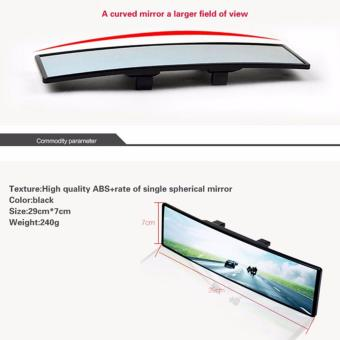 Universal Total Wide Curve View Car Rear Mirror - 3