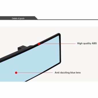 Universal Total Wide Curve View Car Rear Mirror - 4