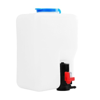 Universal Windshield Windscreen Washer Pump Bottle Tank KitCleaning Tools 12V for Classic Cars - intl - 3