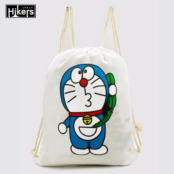 Urban Hikers Canvas Drawstring Backpack (Doraemon)