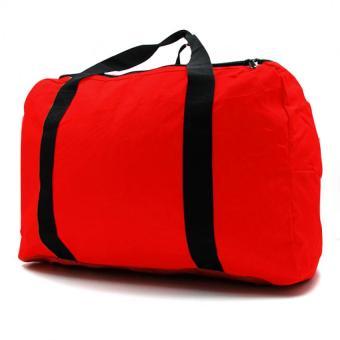 Urban Hikers Mick Hiking Travelling Weekender Bag (Red) - 5