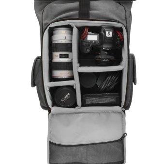 Urban Prose Metropolis Camera Backpack (Grey) - picture 2