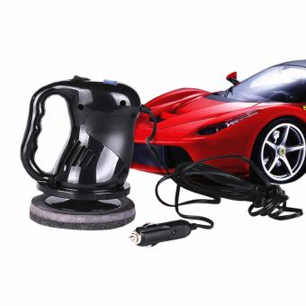 USA TOP ONE lazada and USA best selling 12v Portable Car Polisher Electric Waxing Machine Black