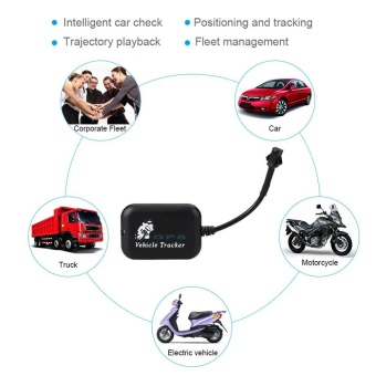 Vehicle Car Global GPS Tracker Real Time Locator 4 Bands Tracking Anti-theft - intl